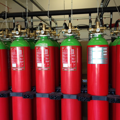 Modular Data Centre Fire Suppression