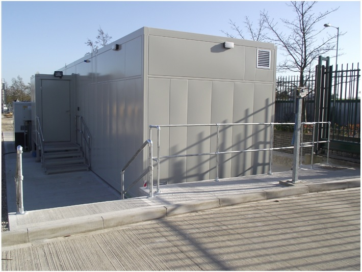 Relocatable Equipment Buildings (REBs) for Railway Telecoms & Power
